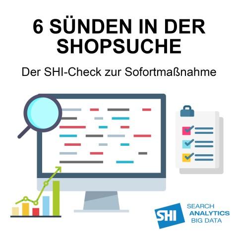 Partnerangebot: 6 Sünden in der Shopsuche - Der SHI-Check zur Sofortmaßnahme (mit 15% Rabatt) 1