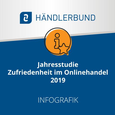 Händlerbund Jahresstudie Zufriedenheit im Onlinehandel 2019 (Infografik) 1
