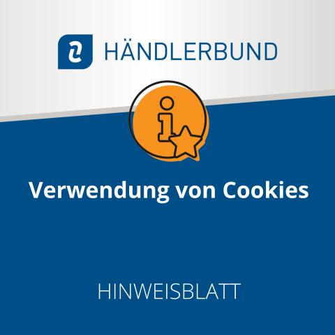 Verwendung von Cookies (Hinweisblatt) 1