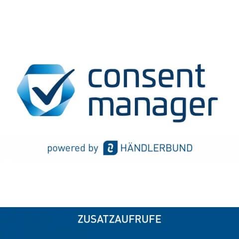 Zusatzaufrufe für Consentmanager Cookie Tool powered by Händlerbund 1